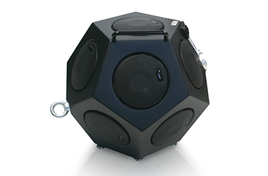 BAS001 omnidirectional dodecahedron sound source for building and room acoustics